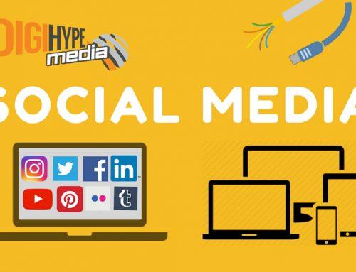 Social Media Info-Graphic