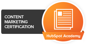 HubSpot Academy Content Marketing Cert