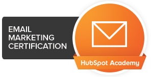 HubSpot Academy Email Marketing Cert