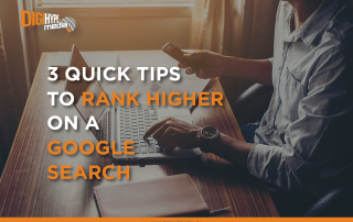 3 quick tips to rank higher on a google search