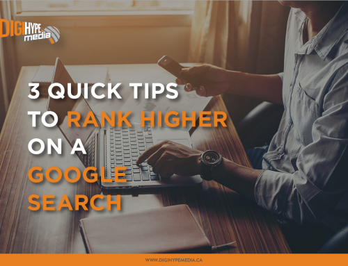 3 Quick Tips to Help You Rank Higher on a Google