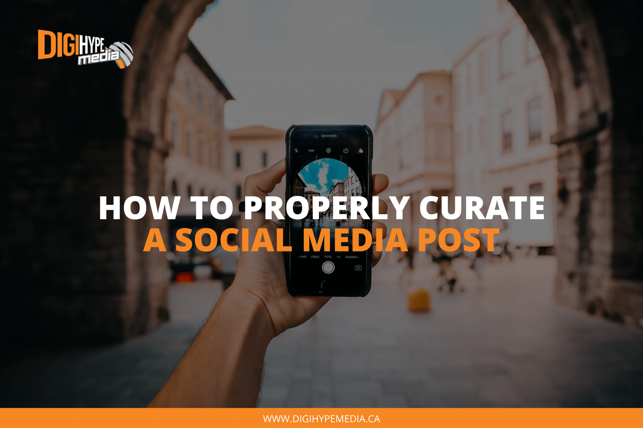 How To Properly Curate A Social Media Post