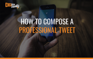 How to Craft A Professional Twitter Tweet - DigiHype Media in Mississauga (social media agency)