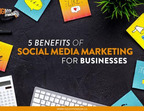 5 Benefits of Social Media Marketing For Businesses