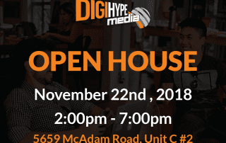 DigiHype Media in Mississauga -Digital Marketing Agency grand opening