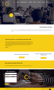 Professional coaching & Keynote speaker in Toronto (web design Mockup)