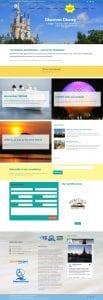 Global Travel Advisor & Vacation Company (website design mockup)