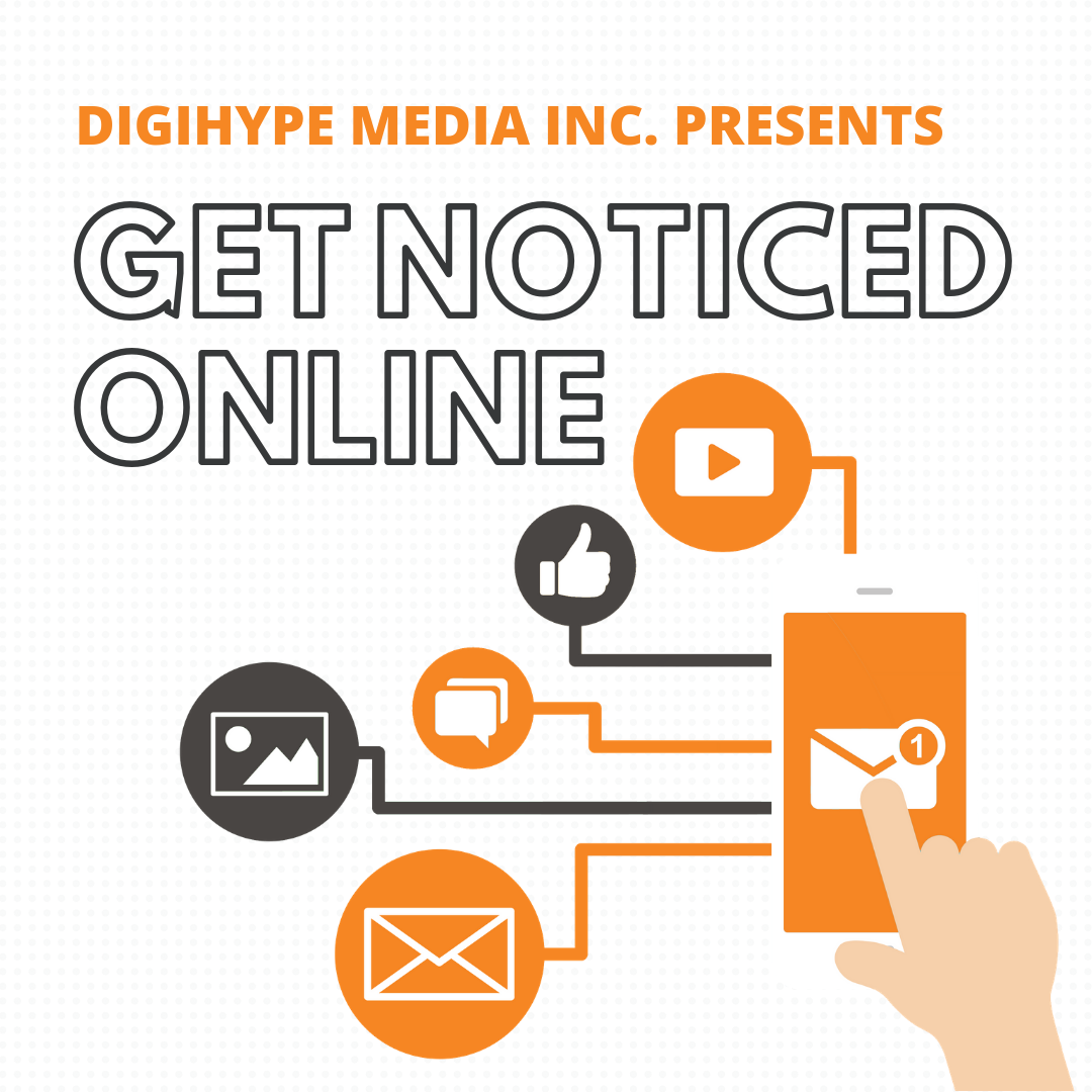 Get Noticed Online with DigiHype Media Inc - Podcast