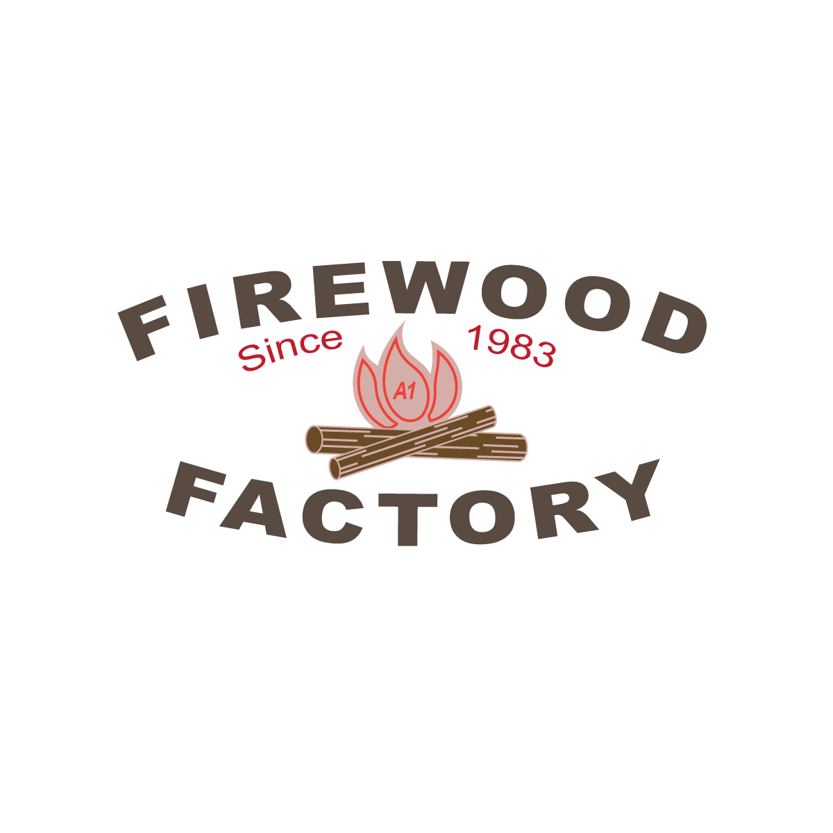 Firewood company in Toronto (logo concept)