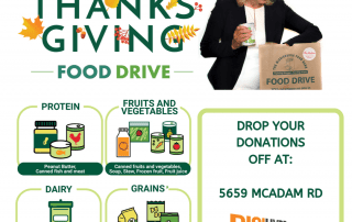 DigiHype Media's Mississauga Thanksgiving Food Drive! - Mayor Crombie's Annual Food Drive