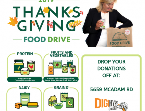 DigiHype Media's Mississauga Thanksgiving Food Drive!